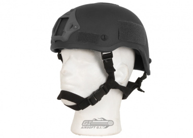 X-Factor MICH 2001 Replica Helmet w/ NVG Mount ( Black )