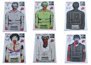 "Zombie Industries Colossal Paper Target 23x35"" - Assorted 25 Pack"