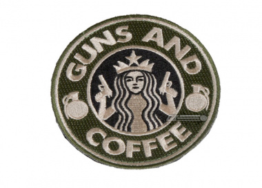 ZI Guns-n-Coffee Patch