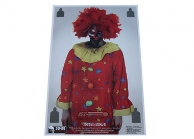 "Zombie Industries Zombie Targets 23x35"" Paper Target - ""Jingles"" ( Single )"