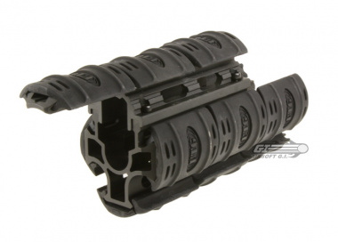 UTG Quad Rail for AK47 with Rubber Covers ( #478 )