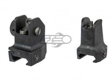 Ares Polymer Sight Set BLK