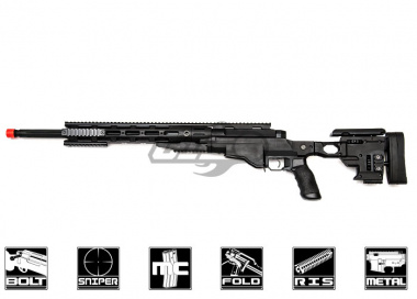 Ares Full Metal Remington MSR Airsoft Gun ( Black / Licensed )