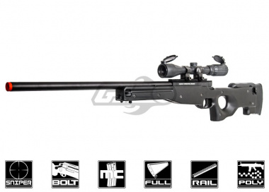 ASG Bolt Action Spring Powered AW 308 Sniper Rifle Airsoft Gun