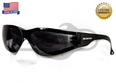 Bobster Shield 3 Sunglasses w/ Anti-fog Smoke Lenses