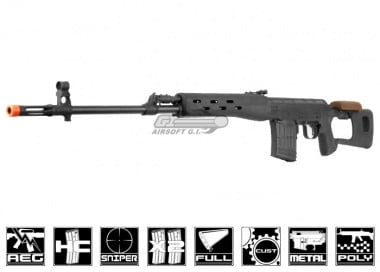 Echo 1 Red Star Full Metal CSR AEG Sniper Rifle Airsoft Gun