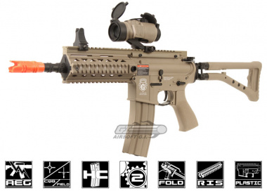 G&G GR4 100Y Plastic Blow Back Folding Stock DST AEG Airsoft Gun