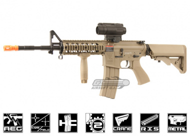 G&G Full Metal TR15 Raider Desert Tan Blow Back AEG Airsoft Gun