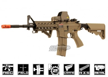 G&G Full Metal GC16 M4 Raider Long DST HV AEG Airsoft Gun