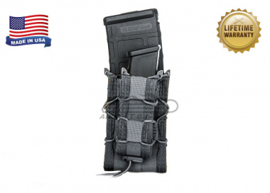 "High Speed Gear ""Double Decker TACO"" Magazine Pouch ( Urban Grey )"