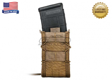 "High Speed Gear ""TACO"" Modular Single Rifle Magazine Pouch ( Coyote Brown )"