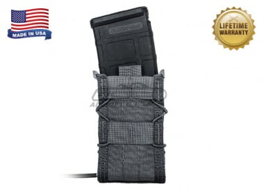 "High Speed Gear ""TACO"" Modular Single Rifle Magazine Pouch ( Urban Grey )"