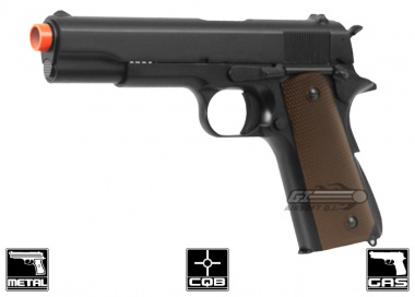 KJW Full Metal M1911 Single Stack GBB Airsoft Gun