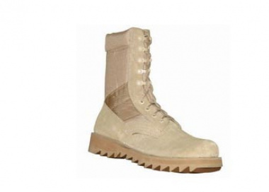 (Discontinued) Condor Jungle Boots ( TAN ) - Speed Lace / Ripple Sole ( Size 12R )