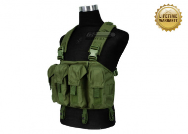 Pantac USA 1000D Cordura AK Chest Rig ( OD / Tactical Vest  )
