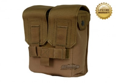 Pantac USA 1000D Cordura Molle M249 200Rd Ammo Pouch ( Coyote )