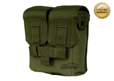 Pantac USA 1000D Cordura Molle M249 200Rd Ammo Pouch ( OD )