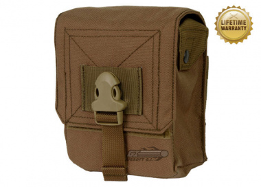 Pantac USA 1000D Cordura Molle M60 100Rd Ammo Pouch ( Coyote )