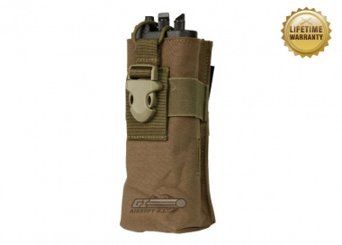 Pantac USA 1000D Cordura Molle Radio Pouch for Prc-148 ( Coyote )