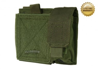 Pantac USA 1000D Cordura Molle Small Admin Pouch ( OD )