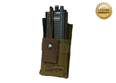 Pantac USA 1000D Cordura Molle Universal Radio Pouch ( Coyote )
