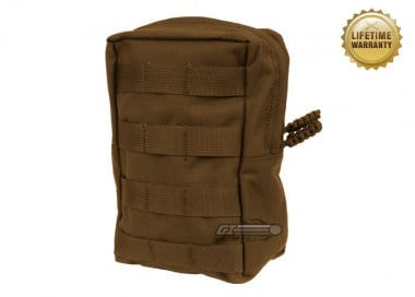 Pantac USA 1000D Cordura Molle Vertical Utility Pouch ( Coyote )