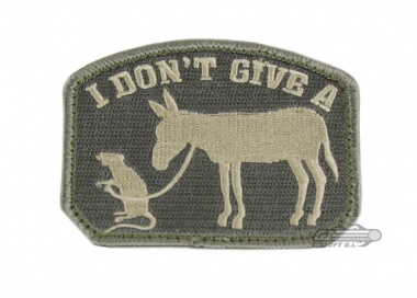 MM I Don't Give A... Velcro Patch ( ACU )
