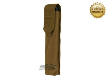 Pantac USA 1000D Cordura Molle E90 / UMG Single Magazine Pouch ( Coyote )