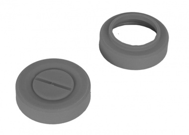 Hakkotsu Thunder B Flash Bang Cover Rings ( Grey )
