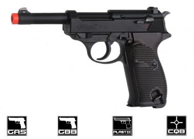 Walther P38 Blowback Pistol Airsoft Gun ( Licensed by Umarex )