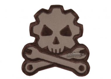 MM Death Mechanic Velcro Patch ( Desert )