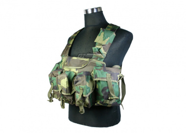Condor Outdoor Commando Chest Rig ( U.S. Woodland )