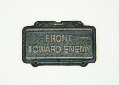 MM Front Toward Enemy Velcro Patch ( ACU )