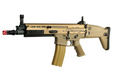 (Discontinued) G&G Full Metal G-MK16 CQC Airsoft Gun (TAN)