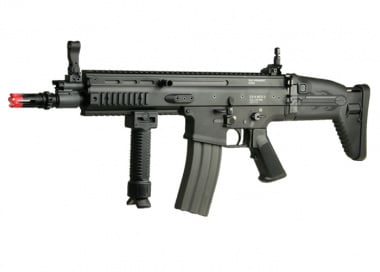 (Discontinued) G&G Full Metal G-MK16 CQC Airsoft Gun (BLK)