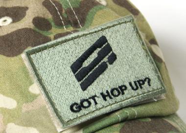 Got HOP UP Patch with Velcro