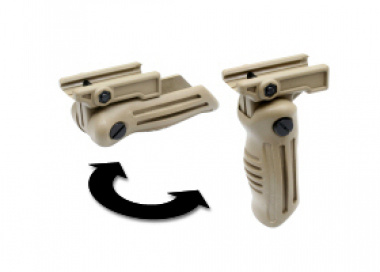 G&P Foldable Vertical Grip for RAS ( TAN )