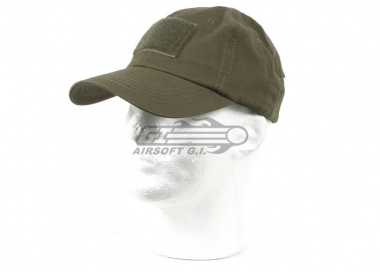 Airsoft GI Tactical Embroidered Handy Cap (OD)