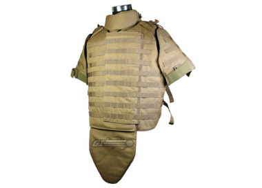 Condor / OE TECH Interceptor Plate Carrier ( TAN / Tactical Vest ) XL / XXL