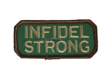 MM Infidel Strong Velcro Patch ( Forest )