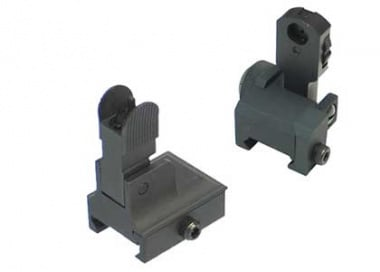King Arms Flip-Up Sight set for 20 mm rail