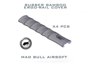 Mad Bull Rubber Bamboo Rail Cover