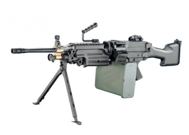 A&K Full Metal M249 MKII AEG Airsoft Gun with Box Magazine
