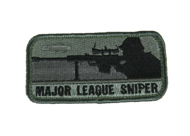 MM Major League Sniper Velcro Patch ( Dark ACU )