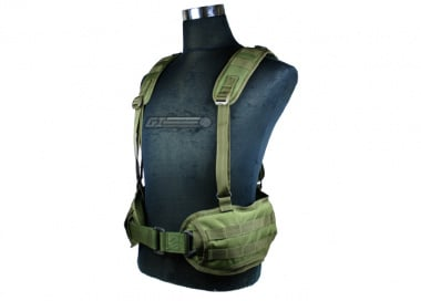 Condor Outdoor MOLLE H Harness ( OD )