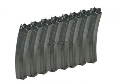 Systema 40rd TW5 PTW Mid Capacity AEG Magazine ( 8 Pack )