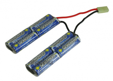 Intellect 9.6v 2000mAh NiMH Nunchuck Battery