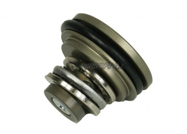 JBU Aluminum piston head with bearings