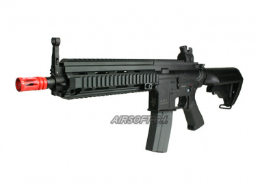 JG 614 Advanced RIS Carbine with Crane Stock AEG Airsoft Gun