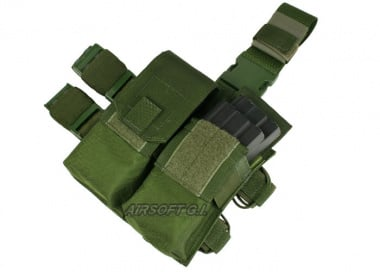 (Discontinued) HSS Dual 5.53 Magazines Thigh Rig (OD)